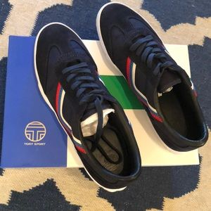 Tory Burch Graphic Lace-up Sneaker *worn only once